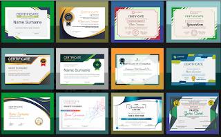 Jasa desain Coreldraw sertifikat