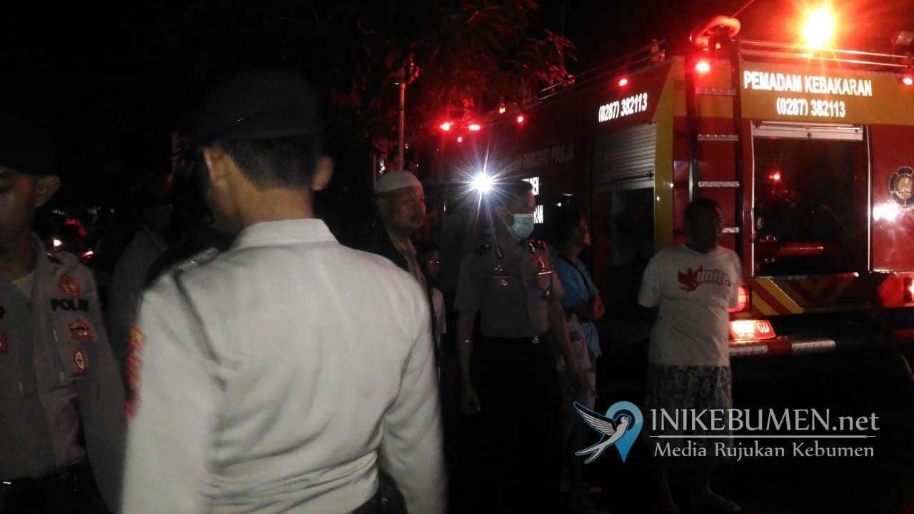 RS Palang Biru Gombong Kebakaran, Puluhan Pasien Dievakuasi