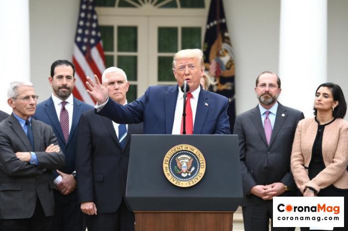 Trump New Crown Virus Test Negative