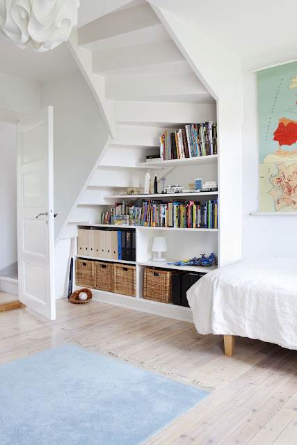 One children's room is under staircase