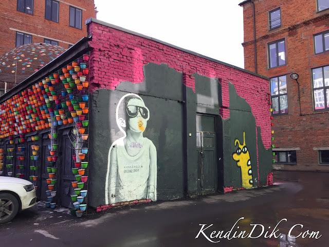 Moskova sokak sanatı, street art, Moscow
