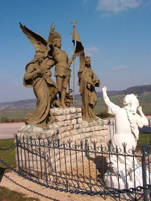 São Miguel, Santa Catarina e Santa Margarida falavam à Santa