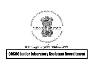 How To Apply CDSCO Junior Laboratory Assistant Recruitment 2020
