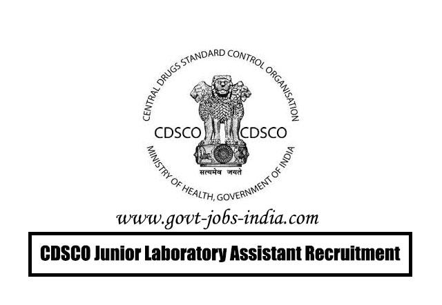 How To Apply CDSCO Junior Laboratory Assistant Recruitment 2020 – 05 Junior Laboratory Assistant Vacancy – Last Date 05 June 2020