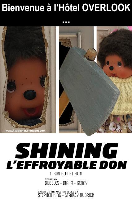 kiki monchhichi parodie shining Kubrick
