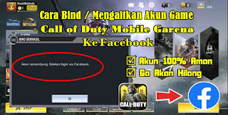 Cara Bind Akun Guest Call of Duty Mobile Garena Ke Facebook