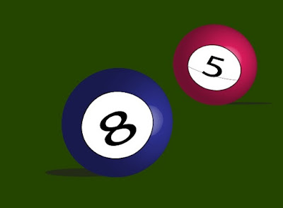 3D Snooker Balls in Adobe Illustrator