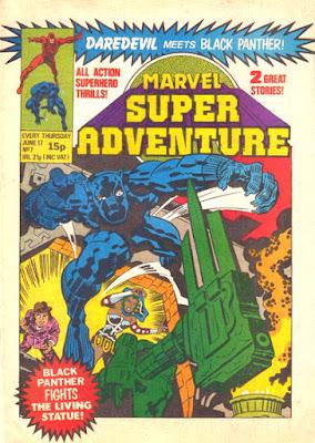 Marvel Super Adventures #7, the Black Panther
