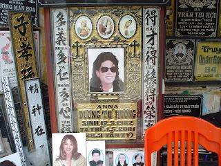 Pierre tombale de Michael Jackson