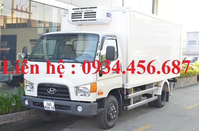 Hyundai 110s đông lạnh tải 7 tấn