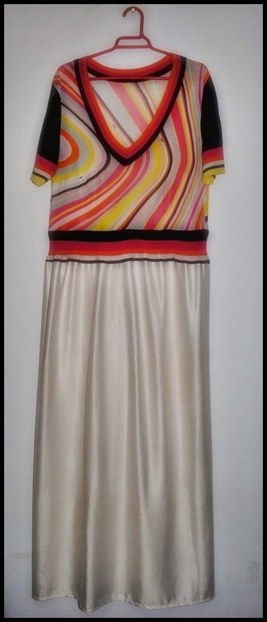 DIY retro dress