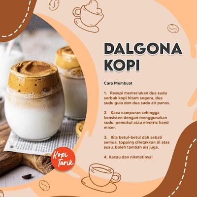 Dolgona Coffee