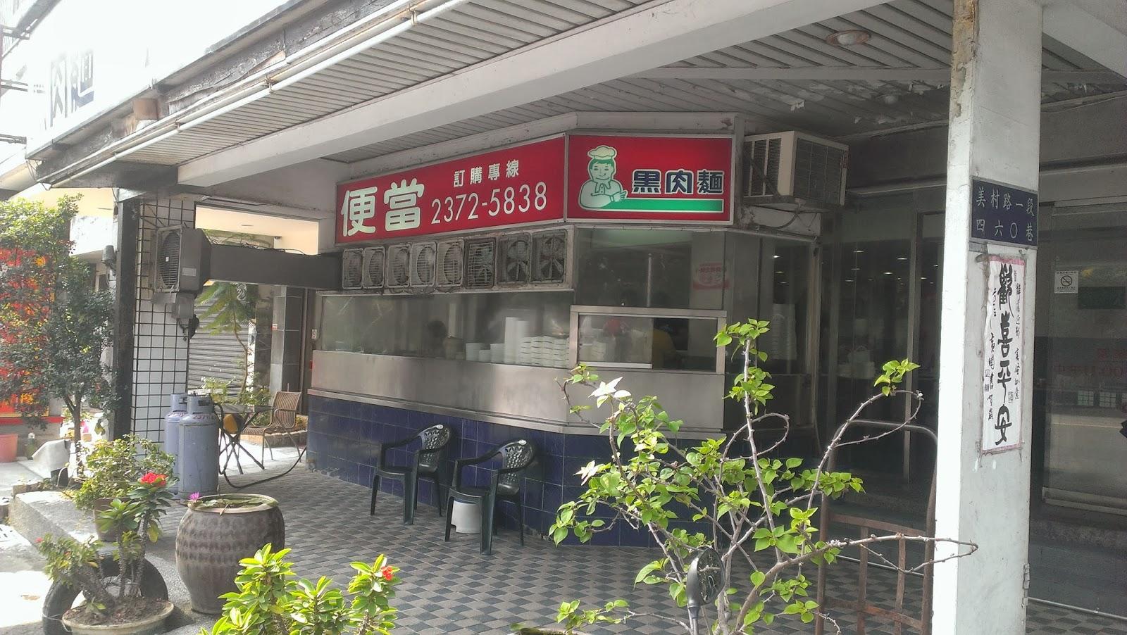 【臺中市西區】美村路好呷ㄟ便當 黑肉麵 :: 宅宅的網站