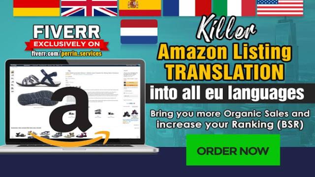 Translate amazon listing into #german, #english, #french, #italian, #spanish, #dutch - asriel dreemurr