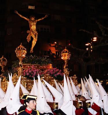 Santísimo Cristo de la Agonía. Procesión de las Siete Palabras. León. Foto G. Márquez.
