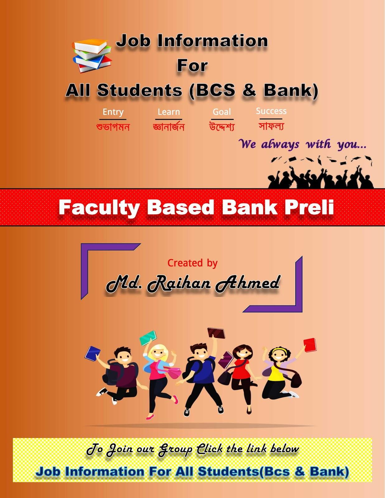 Faculty Based Bank Preli book Pdf