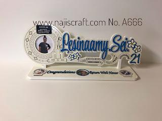 SAMOAN 21ST WHITE KEY NIFO OTI