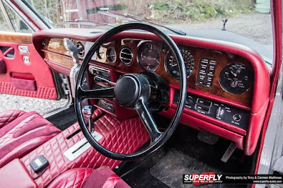 Classic Rolls-Royce Mafia Version Modification Cabin Interior