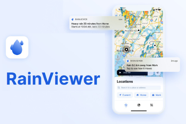 Rainviewer - Έγκυρη πρόγνωση καιρού και προβολή συνθηκών μέσω ραντάρ στο κινητό σας