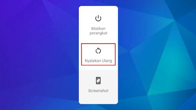 Cara Mengatasi Game Free Fire Keluar Sendiri - Restart smartphone