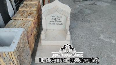 Harga Nisan Kuburan Marmer, Nisan Marmer Putih, Batu Nisan Dari Marmer
