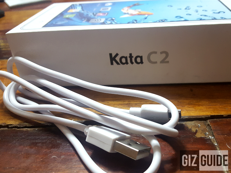 Kata box w/ charger and cable