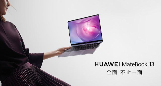 【Huawei Matebook 13】799ドルで!2KディスプレイにGeForce MX150、Core i5搭載のラップトップHuawei MateBook 13が登場!