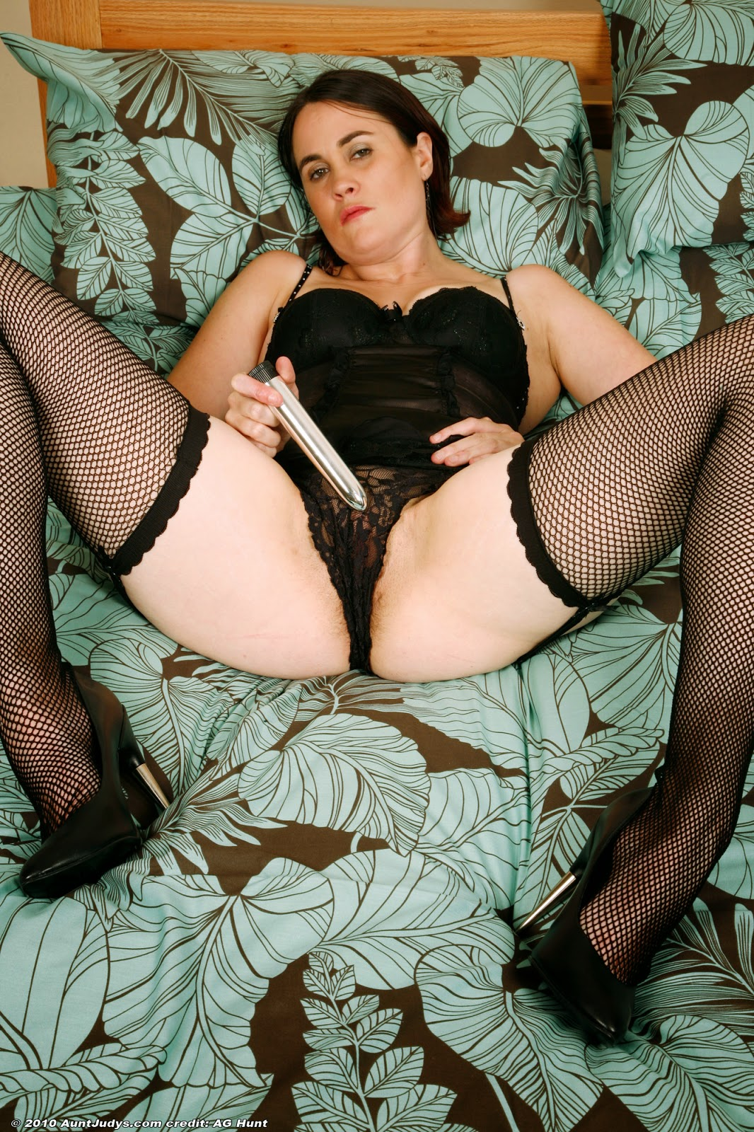Black stocking sluts