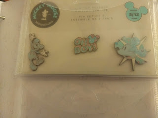 May's Mickey Memories pins