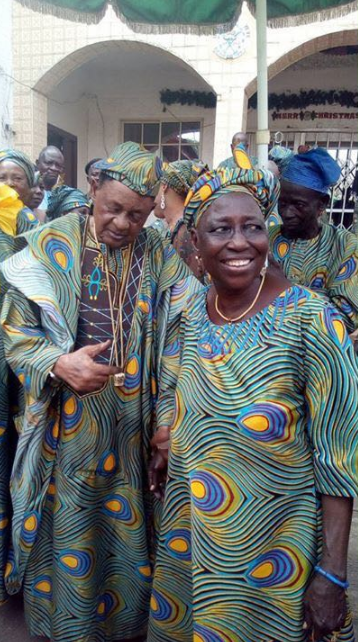 Photos Jubilation As Alaafins Wife Olori Bolanle Adeyemi Gets Royal Naming For Baby