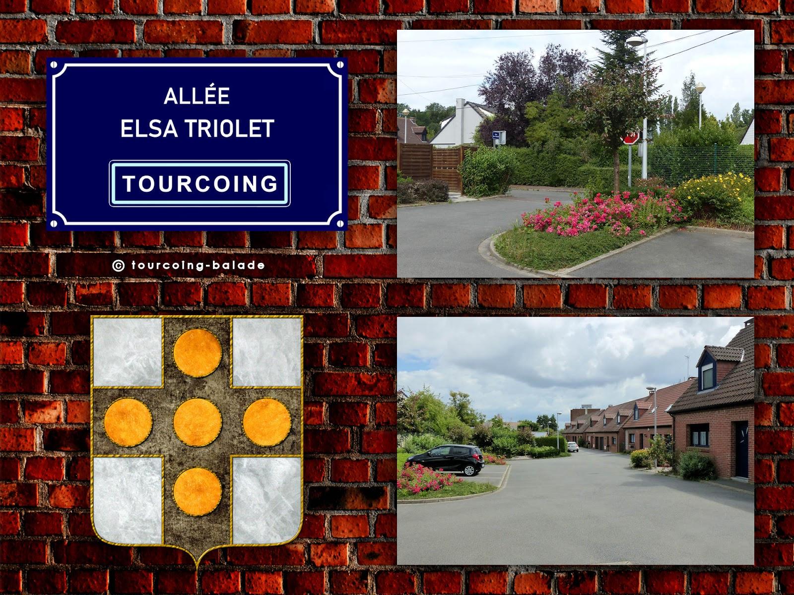 Rues de Tourcoing - Allée Elsa Triolet, 2020