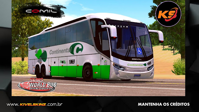 COMIL 1200 6X2 - VIAÇÃO CONTINENTAL