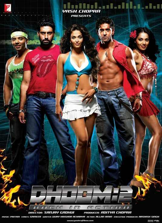 Dhoom 2 (2006) Full Movie Download 480p, 720p 9xmovies