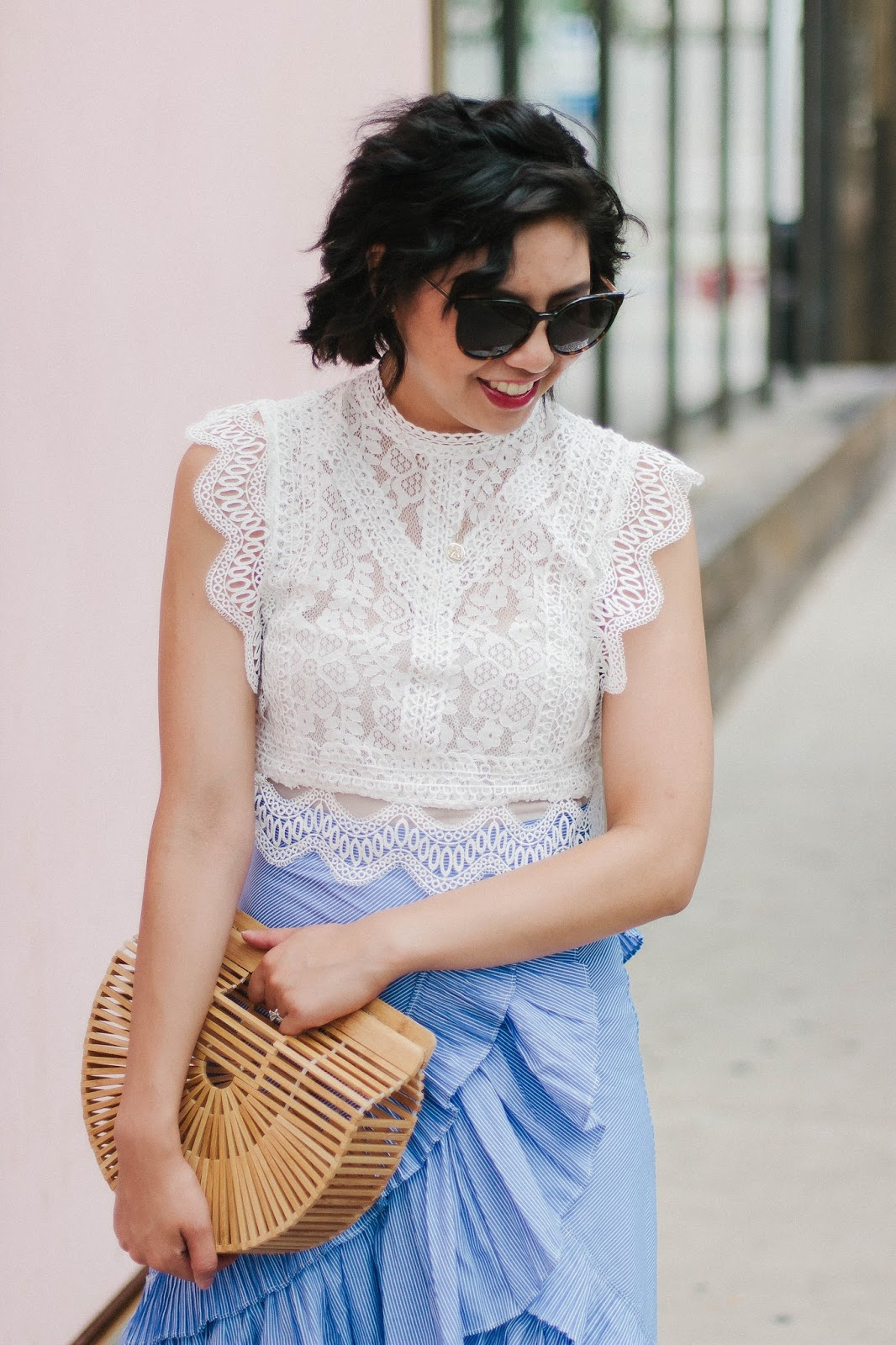 The Most Feminine Skirt and Statement Outfit