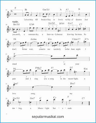 moonlight serenade 2 lagu jazz standar