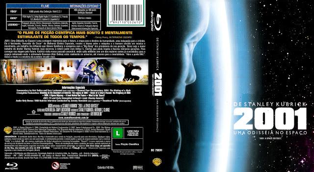 Capa Blu-ray 2001 Uma Odisséia no Espaço