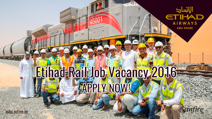 Etihad Rail Job Vacancies 2016 GCC Jobs - Apply Online