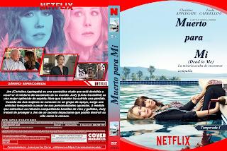 CARATULA MUERTO PARA MI - DEAD TO ME 2019 TEMPORADA 1[COVER DVD-NETFLIX]