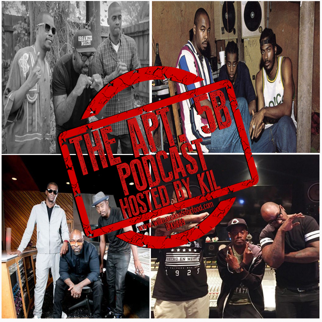 Apt. 5B Podcast Hosted by Kil: Saluting 25 Years of Organized Noize