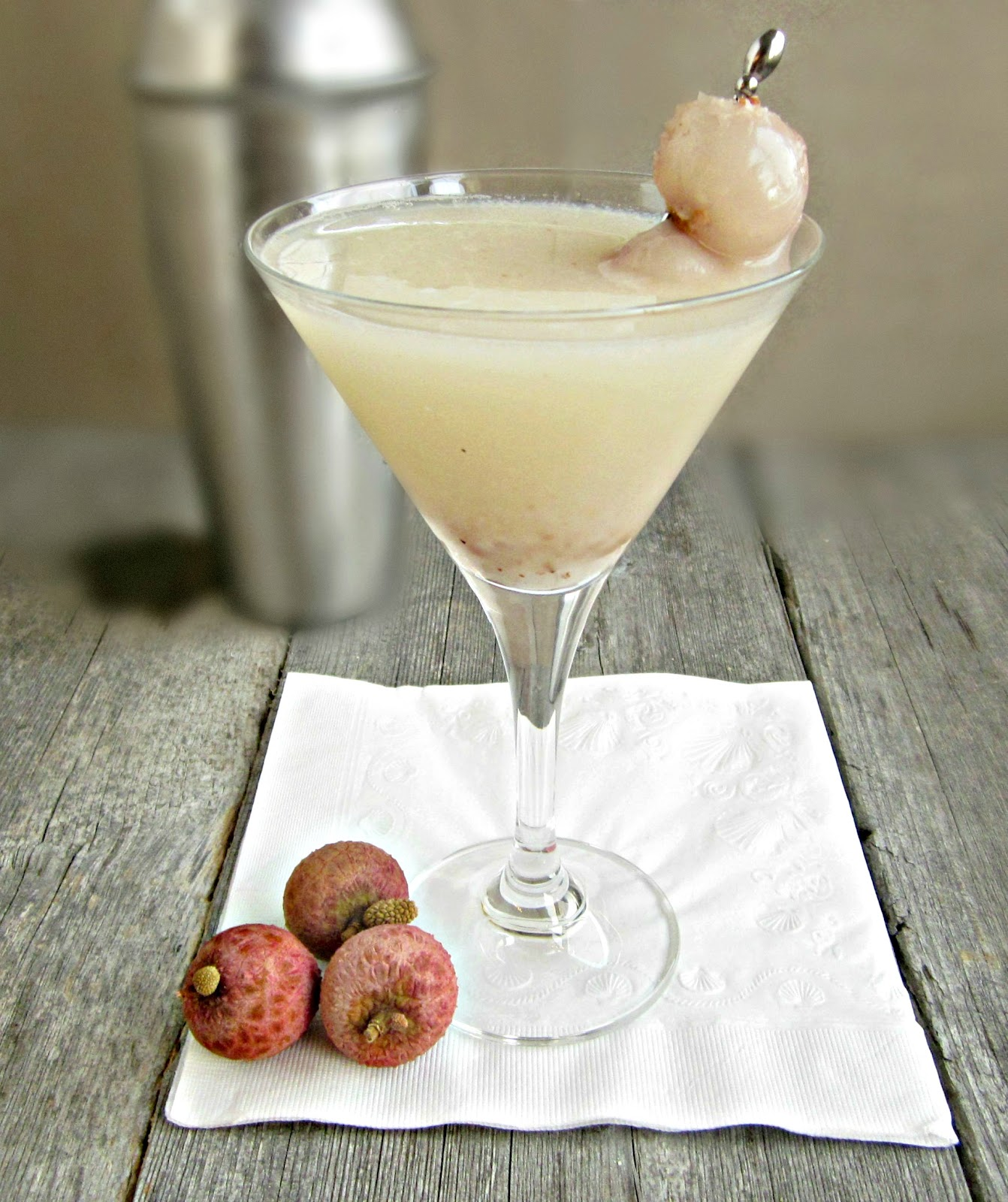 Hungry Couple: Lychee Martini (aka The Rapture-tini