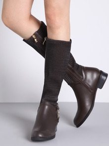 www.shein.com/Brown-Metallic-Embellished-Flat-Boots-p-259126-cat-1748.html?aff_id=2525