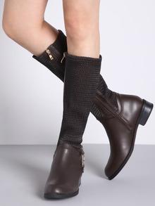 www.shein.com/Brown-Metallic-Embellished-Flat-Boots-p-259126-cat-1748.html?aff_id=2525
