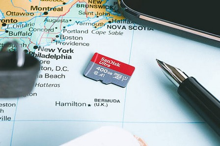 Kartu Memori Kapasitas Jumbo 400 GB - Sandisk Ultra MicroSDXC UHS-I