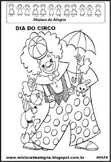 Atividade dia do circo