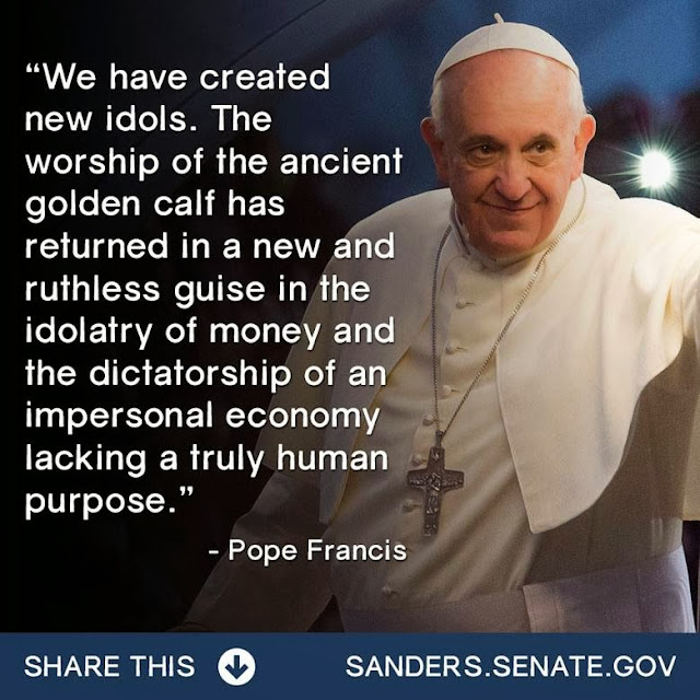 Image result for pax on both houses pope francis invisible hand of the marketplace