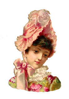 hat antique fashion image women illustration