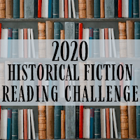 2020 Historical Fiction Reading Challenge logo