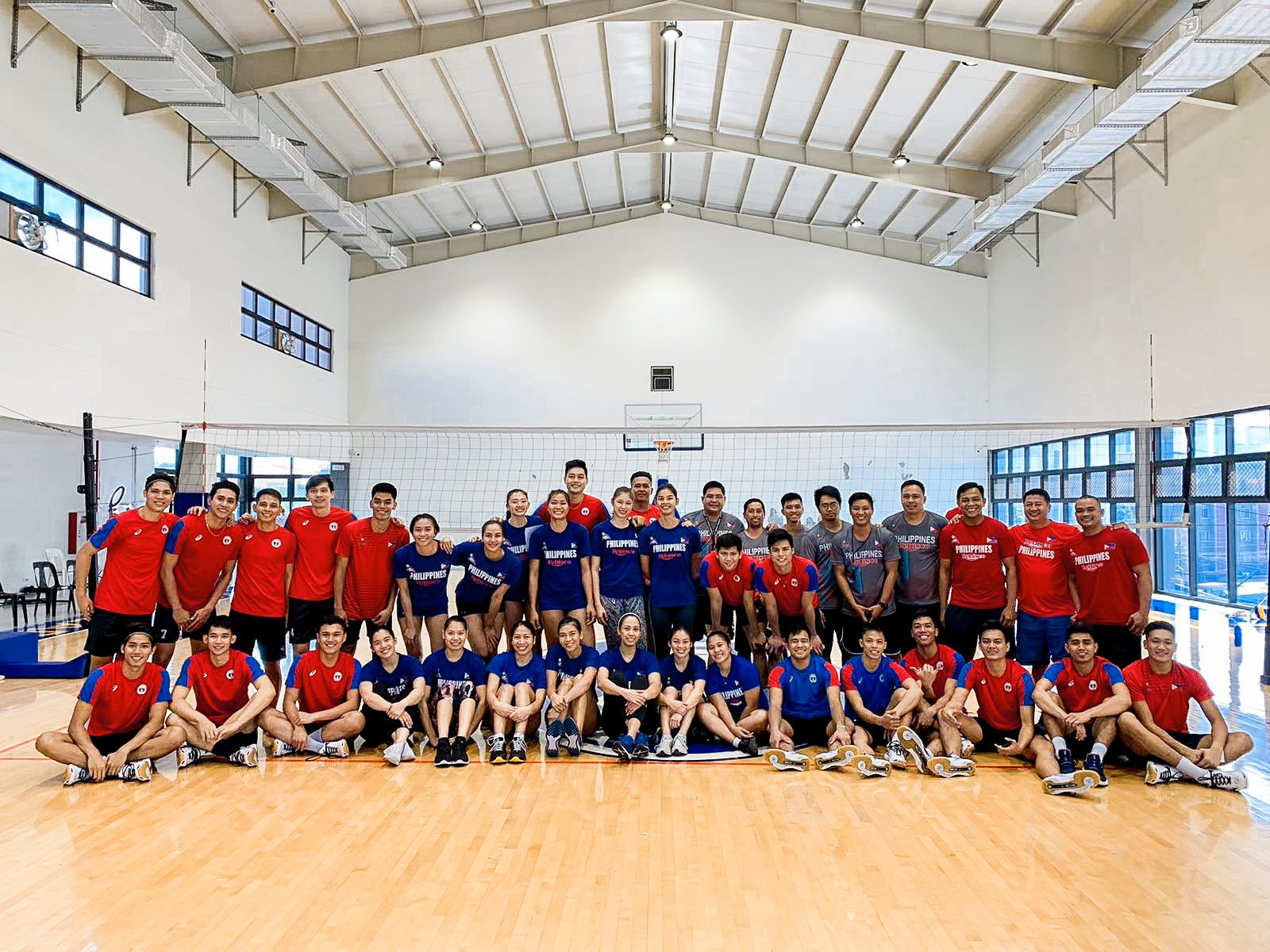 Philippine volleyball teams are ready for the 30th SEA Games.