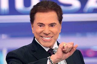 """De volta a TV, Silvio Santos tira 'sarro' de Faustão: """"Na rua da amargura"""""""