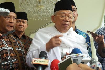 Ma'ruf Amin Puji Kepribadian Jokowi Sebagai Pemimpin - Info Presiden Jokowi Dan Pemerintah
